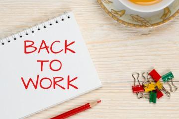 Retour au travail après une longue absence